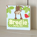 Hanging Around Wooden Name Plaque