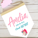 Nursery Decor Pendant Flag Name Sign Girl Unicorn